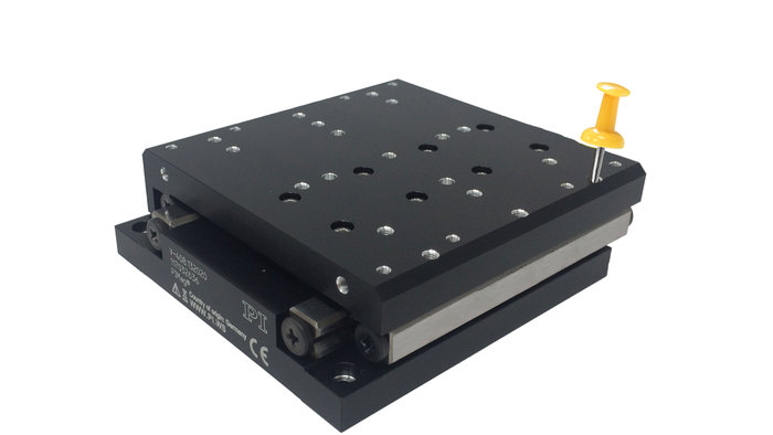 The V-408 stage is small, precise, and affordable as it's equipped with an incremental linear encoder for direct position measurement and a high-force 3-phase linear motor drive. It's well-suited for industrial automation applications with high demands on dynamics, duty cycles, and nanopositioning precision.