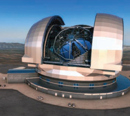 Piezo-based solutions are key to precision in the World's largest telescope, the ELT of the European Southern Observatory (ESO). This artist's impression shows the European Extremely Large Telescope (E-ELT) in its enclosure. The E-ELT will be a 39-metre aperture optical and infrared telescope sited on Cerro Armazones in the Chilean Atacama Desert. PI provides the nanometer-precise actuation of the main mirror segments, as well as other piezo-based, highly customized motion solutions for precision-critical points of operation within the telescope. (Image: ESO/L. Calçada) Read about it: http://www.pi-usa.us/blog/hybrid-ultra-high-precision-positioning-actuators/