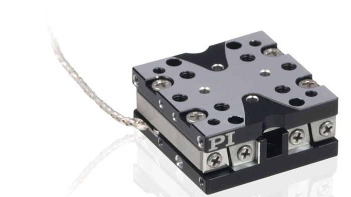 "The Q-522 series of economical mini positioning stages are driven by a compact piezo inertia motor. They are offered with travel ranges of 1/4"", 1/2"", and 1"". Featuring dimensions as small as 22x22x10mm, the Q-522 is one of the smallest precision linear stages available on the market. Q-522 stages can be combined with the Q-622 miniature rotary positioners to form very compact multi-axis positioning systems."