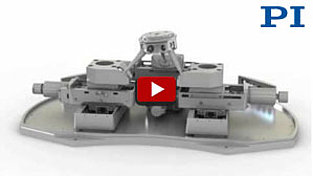 Vacuum Compatible 6-Axis Robotic Parallel Positioning System (SpaceFAB)