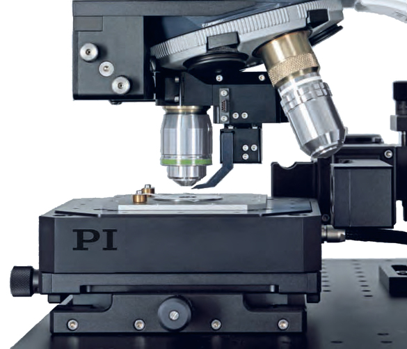 Raman microscopy is based on a confocal, optical microscope and a Raman spectrometer. (Image: WITec GmbH)