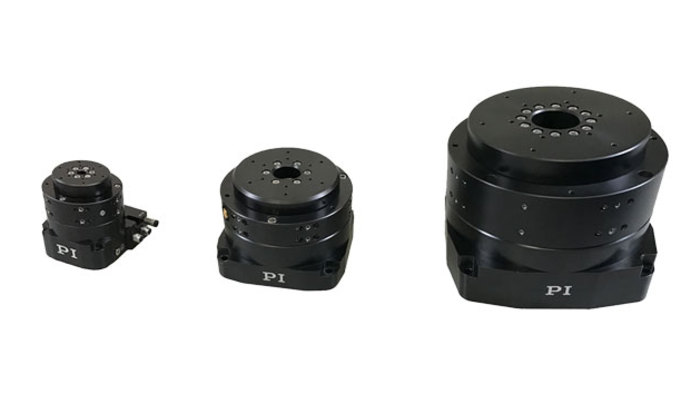 "The PIglide RM series of motorized rotary air bearing stages are a complete positioning solution designed for accuracy, precision, high stiffness, and ease of use. They can be used in any orientation. These stages feature high performance, low-cogging frameless slotless torque motors, and optical encoders. Various options can be combined to create a solution ideal for point-to-point indexing or constant velocity scanning. Applications include optical alignment, metrology, inspection, calibration, and scanning. The RM stages offer superior runout, flatness, and wobble performance. Since they are completely frictionless, they exhibit no breakaway ""stiction"" or drag friction during operation. They are ideal for use in cleanrooms, require no maintenance or lubrication, and have unlimited life."