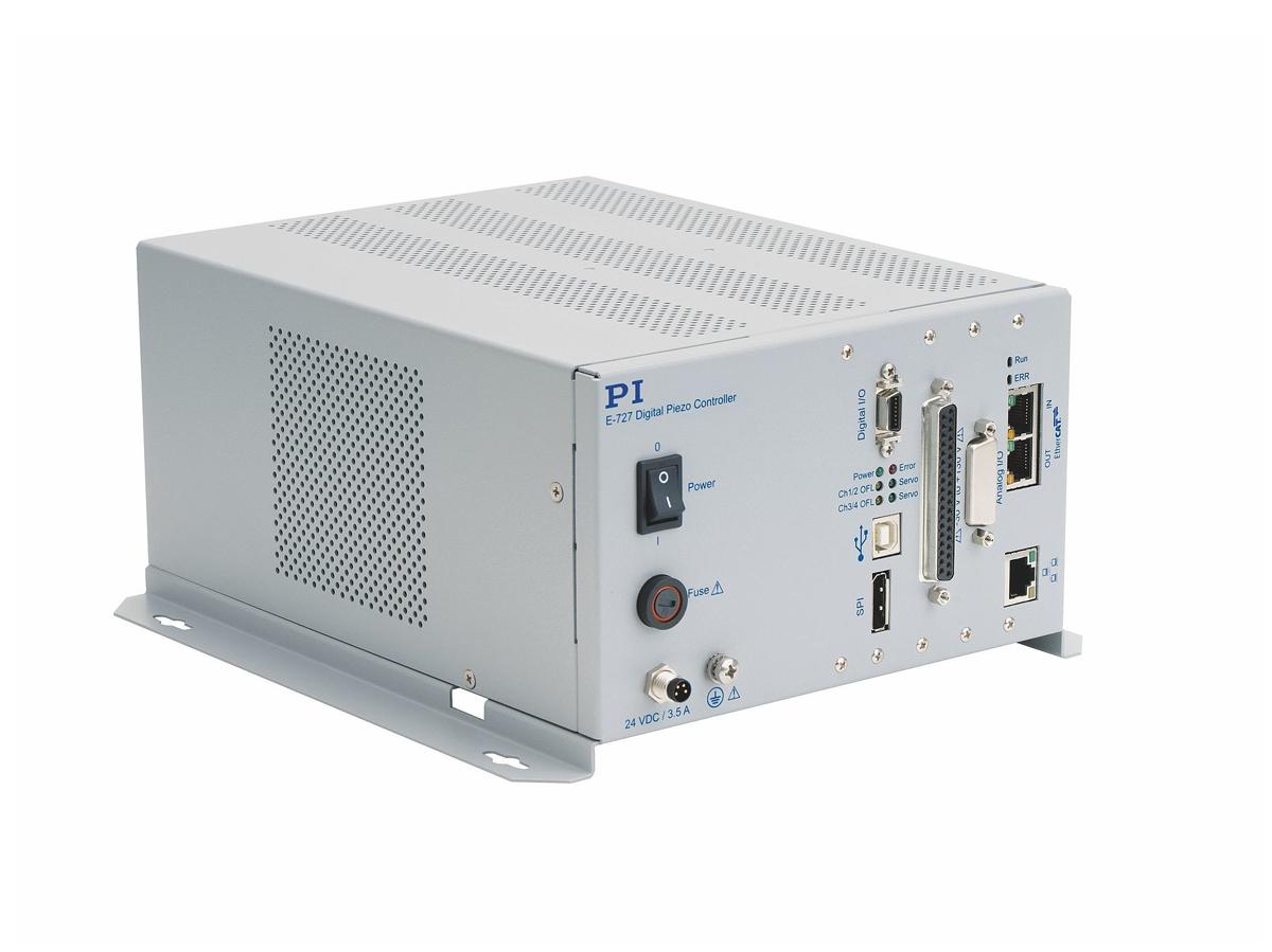 E-727 Digital Multi-Channel Piezo Controller with EtherCAT