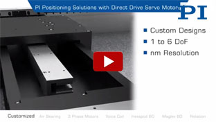 Positioning Solutions with Direct Drive Servo Motors